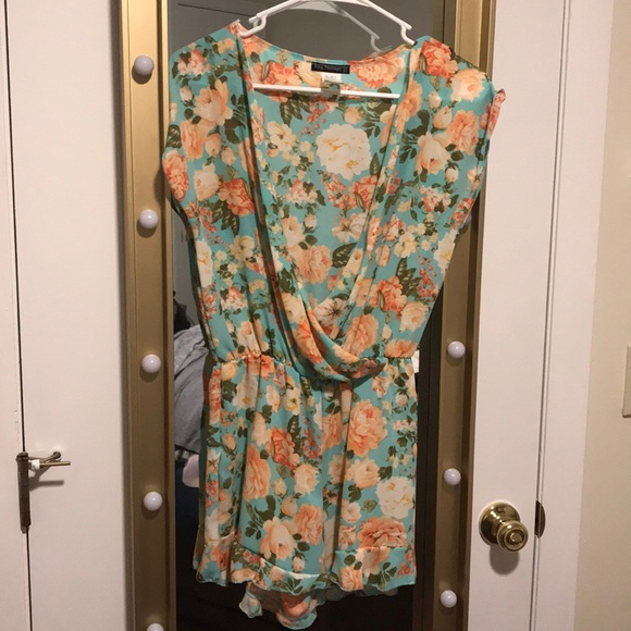 rag therapy Pants - Floral romper